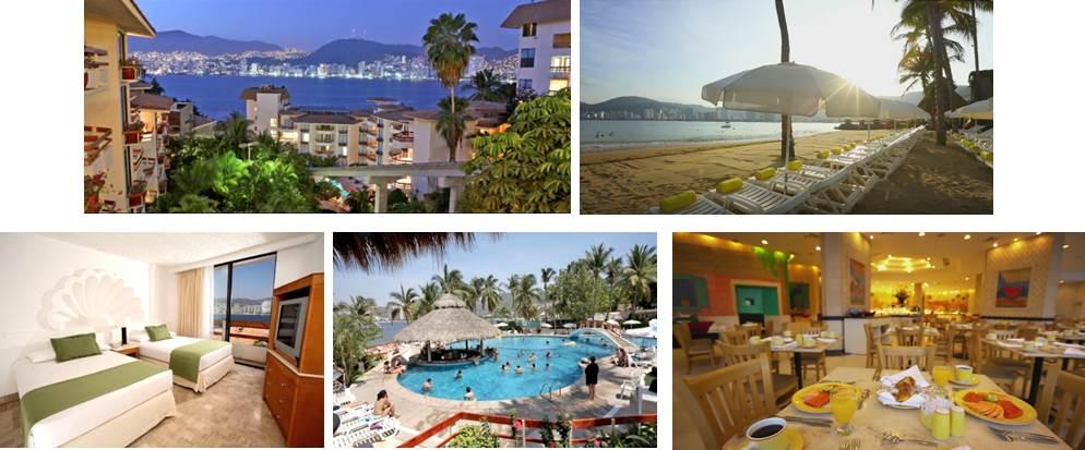 hotel park royal acapulco comodidades Mitiquete